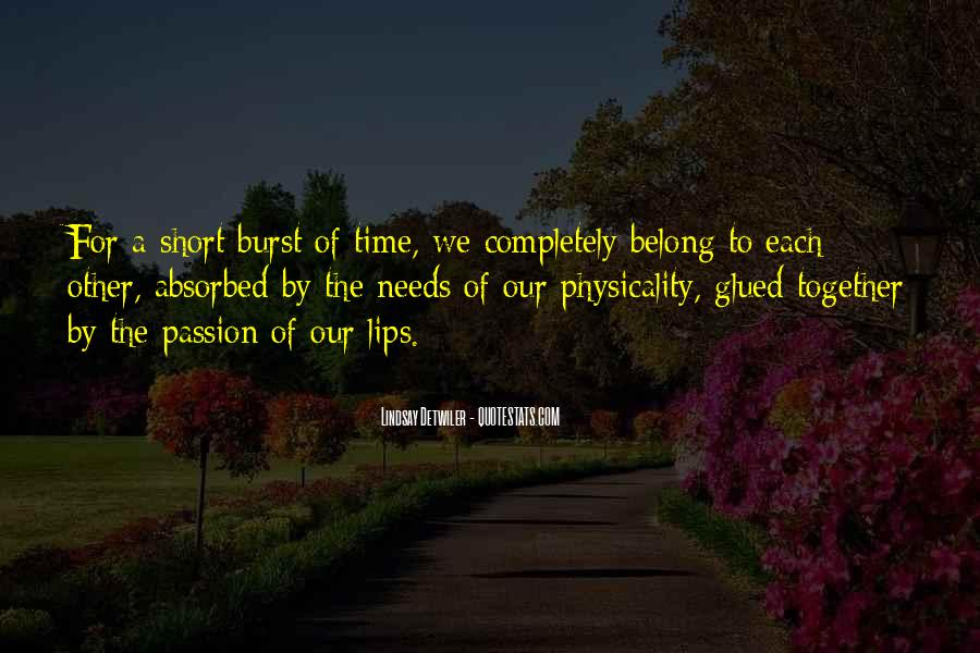 Quotes About Time For Each Other #708797