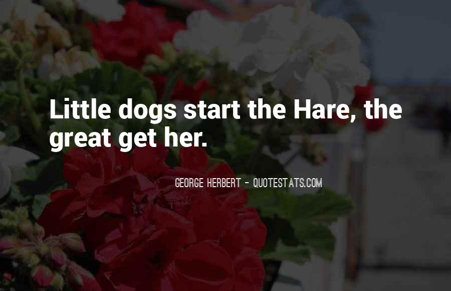 Quotes About Little Dogs #1325100