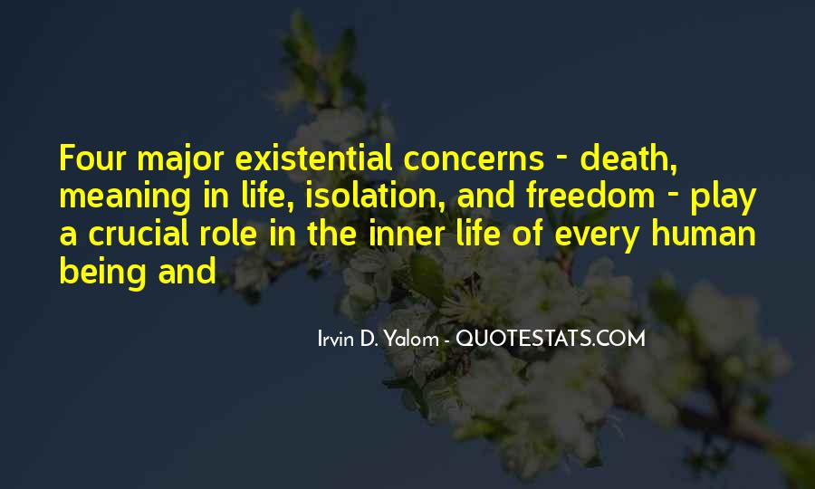 Quotes About Meaning Of Life And Death #1105168