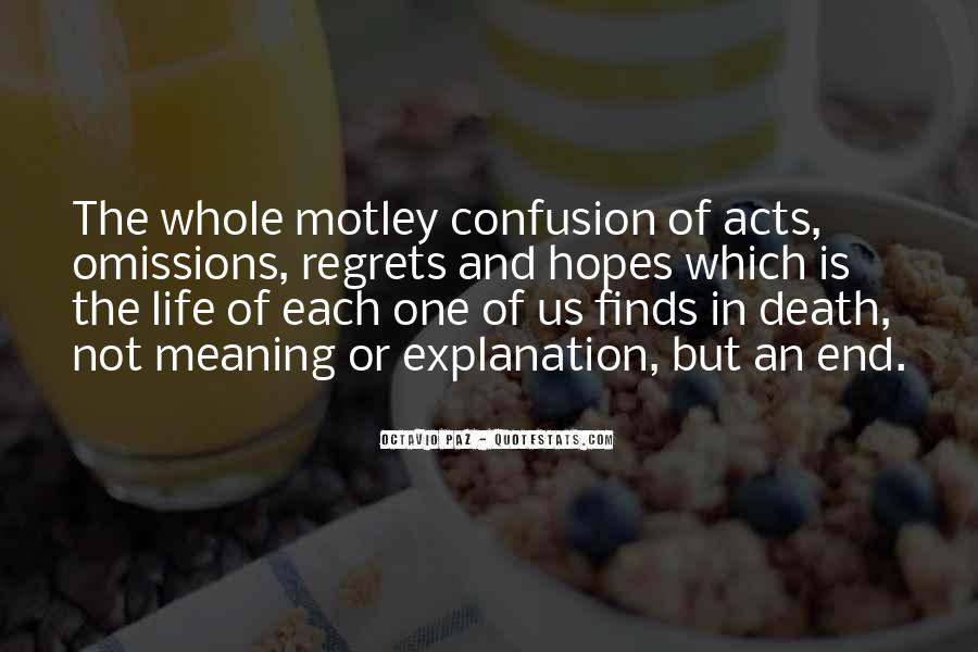Quotes About Meaning Of Life And Death #1331839