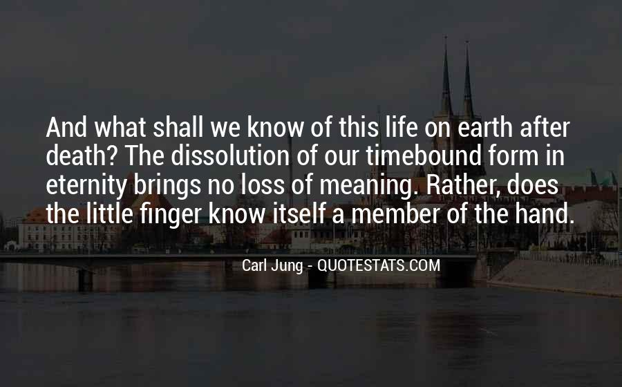 Quotes About Meaning Of Life And Death #21595