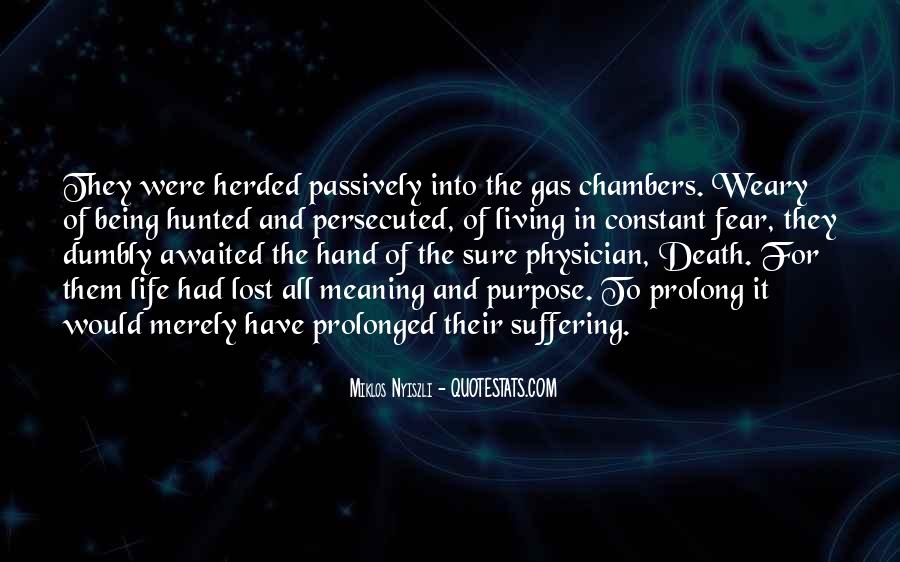 Quotes About Meaning Of Life And Death #844541