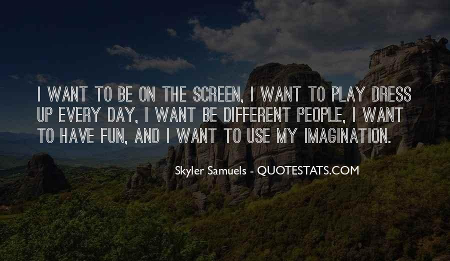 Quotes About Imagination And Play #1123194