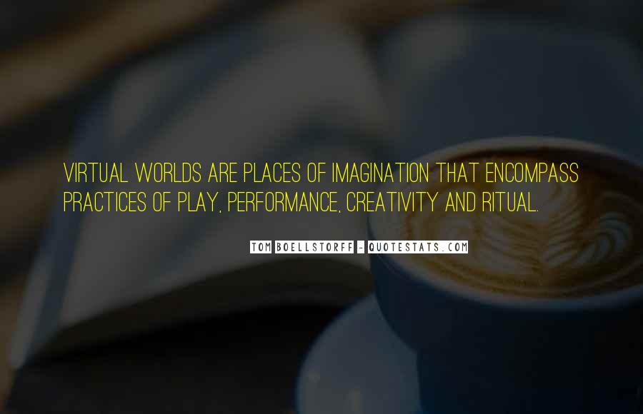 Quotes About Imagination And Play #1396117