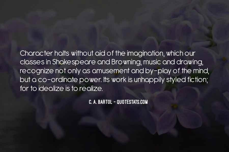 Quotes About Imagination And Play #206898