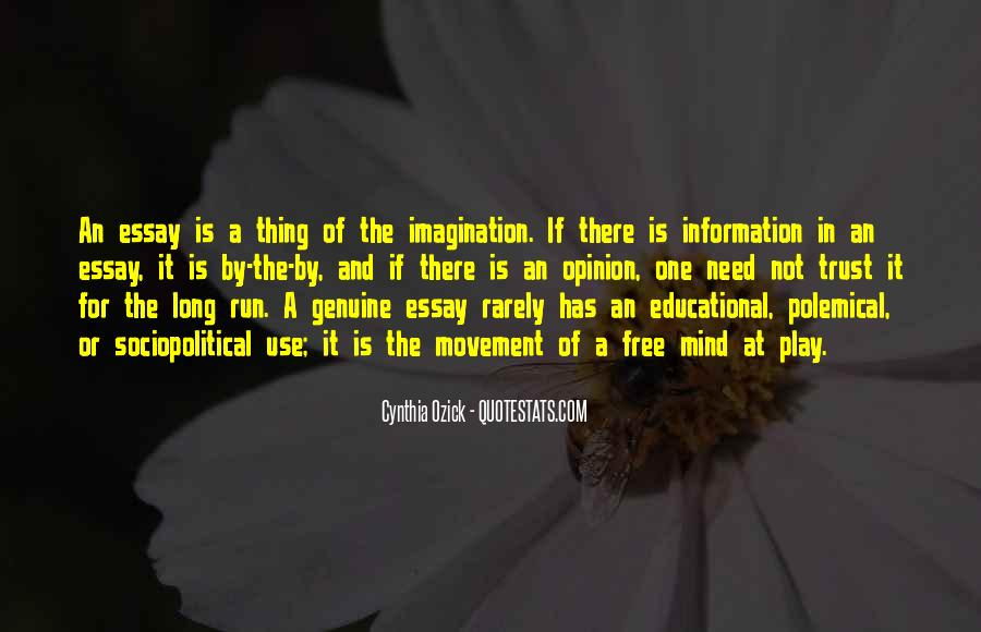 Quotes About Imagination And Play #51315