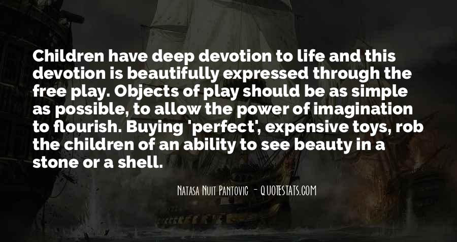 Quotes About Imagination And Play #526326