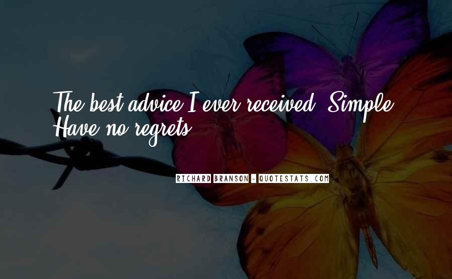 Quotes About I Regret #116012