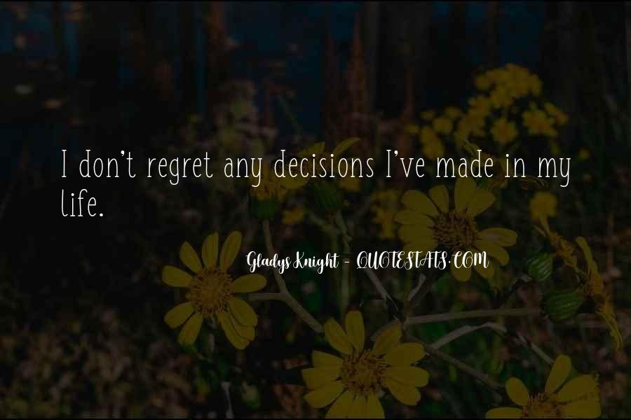 Quotes About I Regret #148