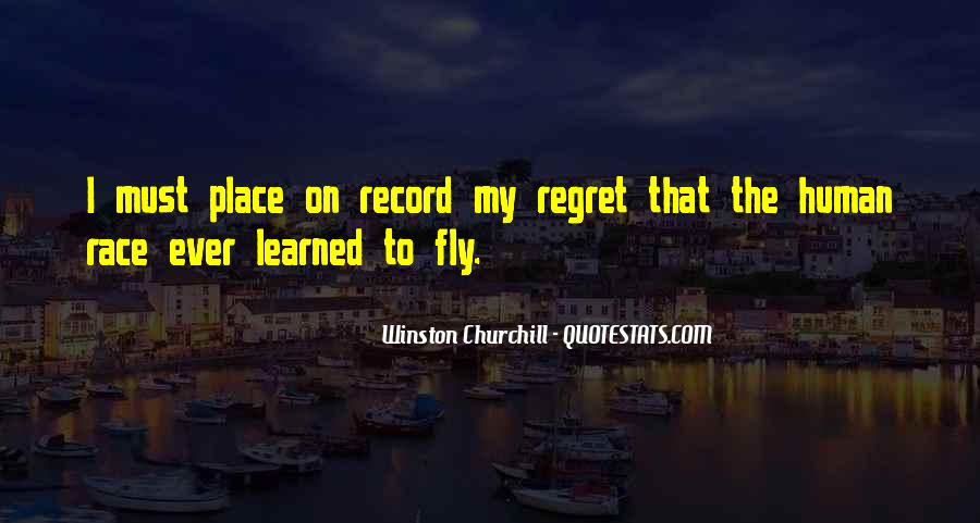 Quotes About I Regret #20425