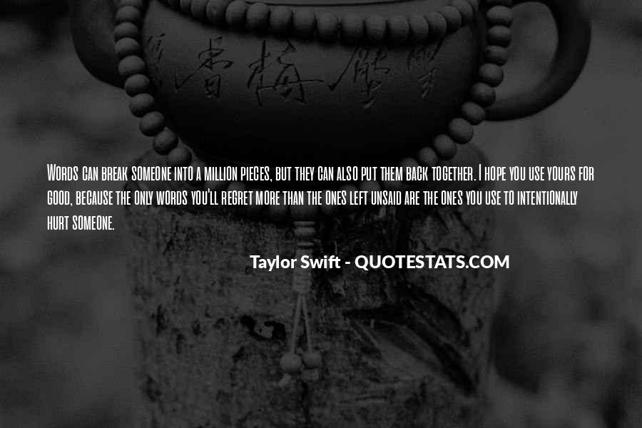 Quotes About I Regret #48352