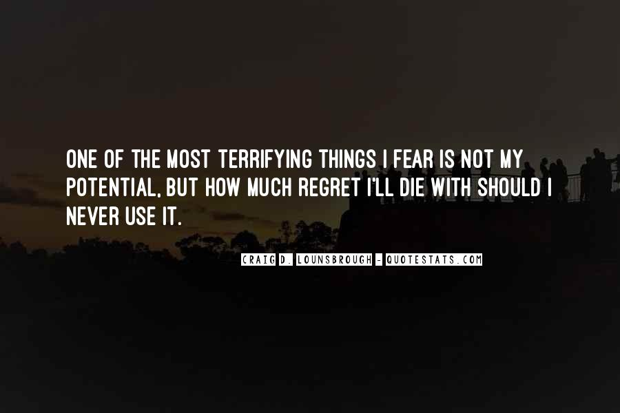 Quotes About I Regret #5950