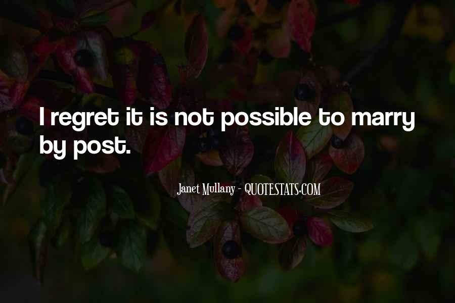 Quotes About I Regret #78364