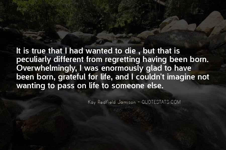 Quotes About I Regret #8292