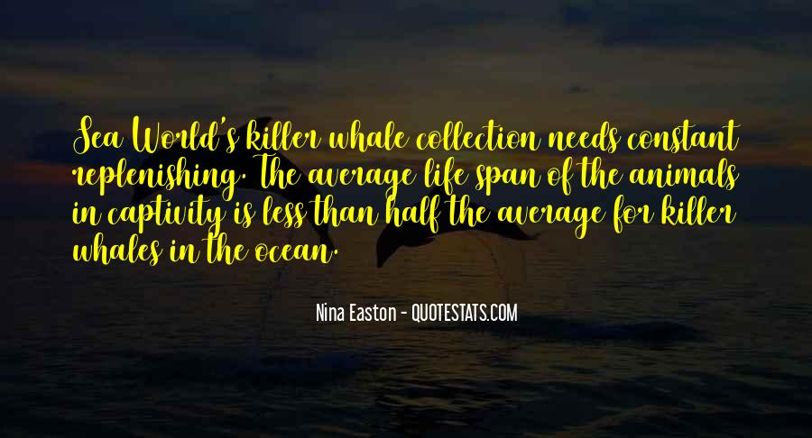 Quotes About Ocean Animals #1207060