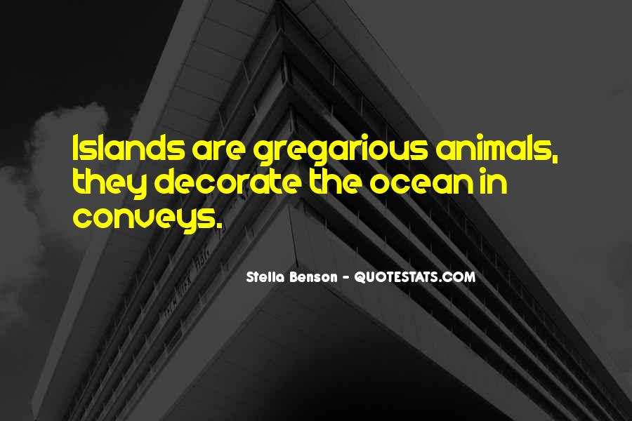 Quotes About Ocean Animals #744174