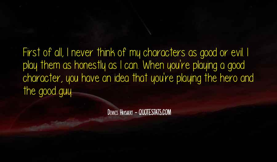 Quotes About Good Character #104405