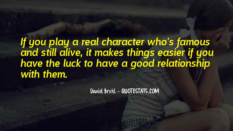 Quotes About Good Character #114243