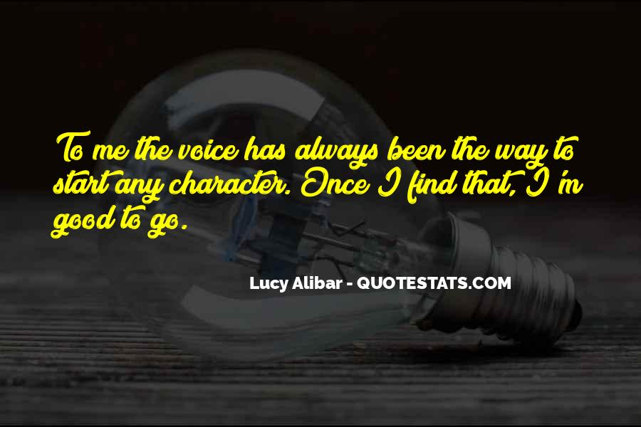 Quotes About Good Character #126283