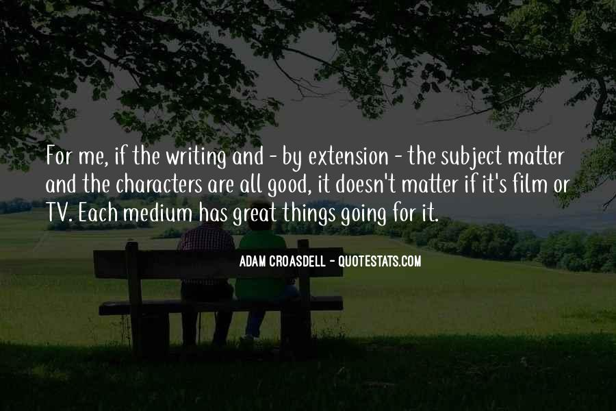 Quotes About Good Character #130936