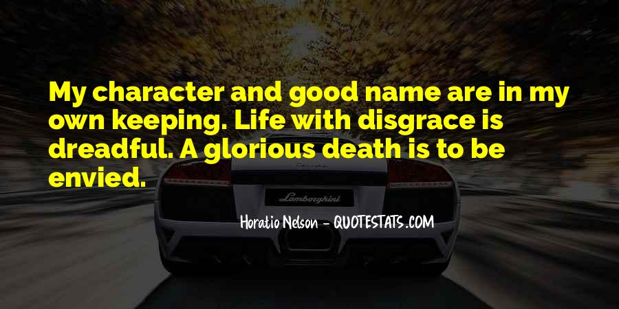 Quotes About Good Character #139653