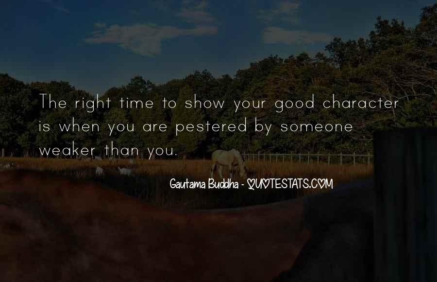 Quotes About Good Character #153604
