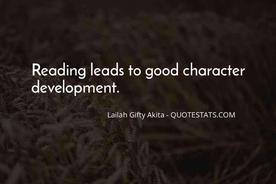 Quotes About Good Character #156346