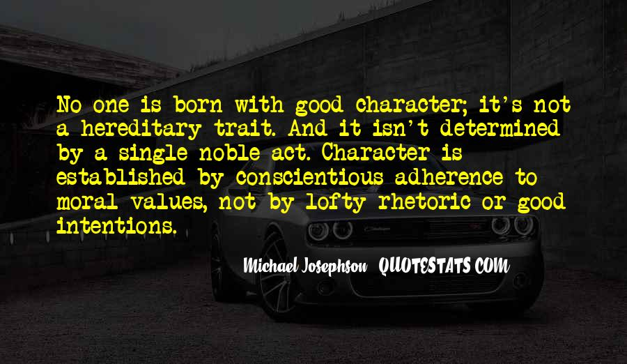 Quotes About Good Character #156957