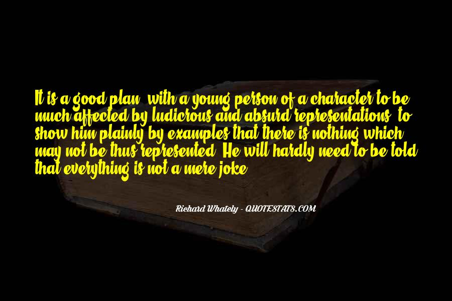 Quotes About Good Character #165491