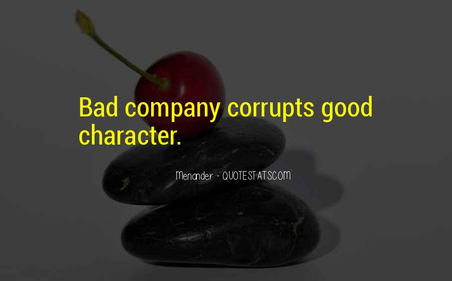 Quotes About Good Character #171831