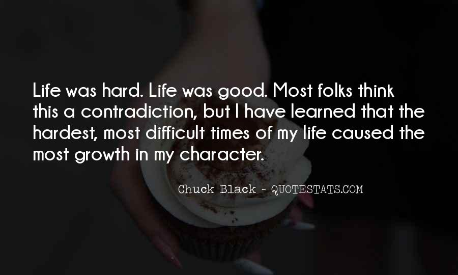 Quotes About Good Character #175104