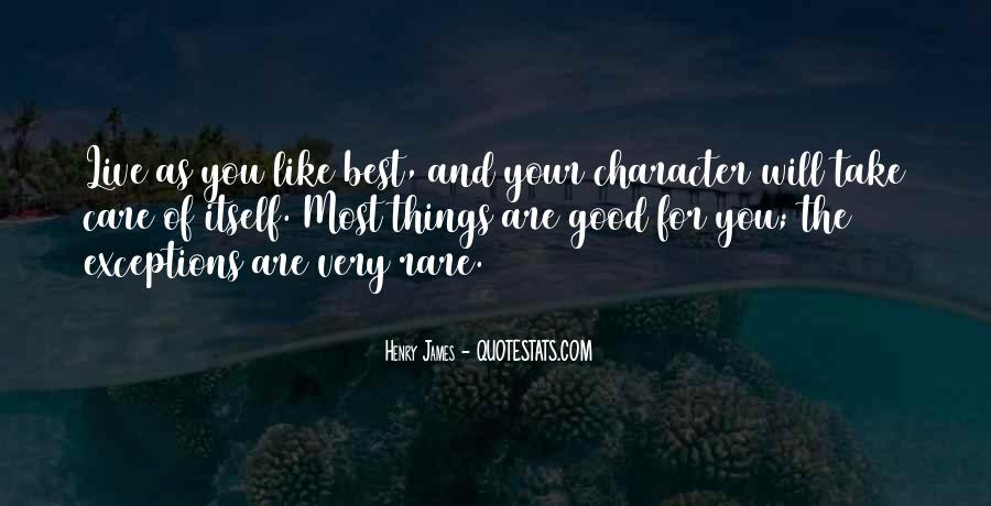 Quotes About Good Character #178414
