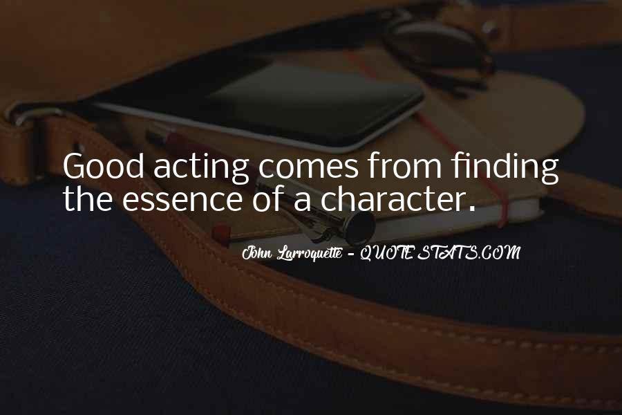 Quotes About Good Character #185766