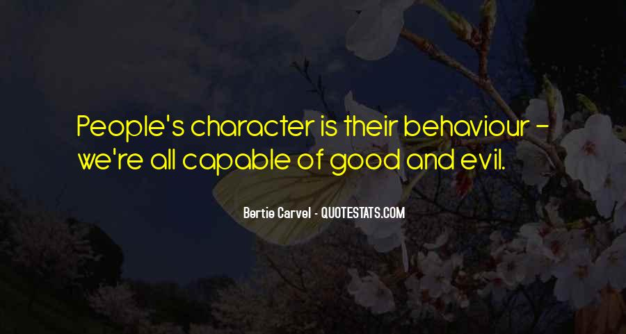 Quotes About Good Character #188535