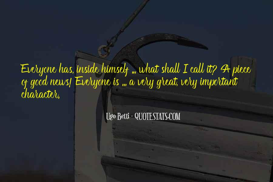 Quotes About Good Character #192013