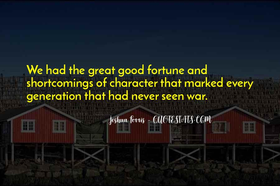 Quotes About Good Character #197827
