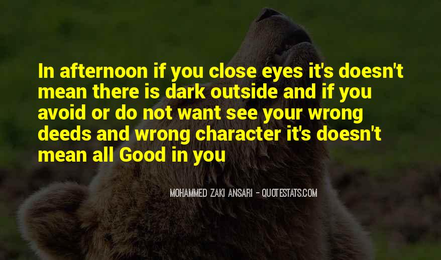 Quotes About Good Character #21067