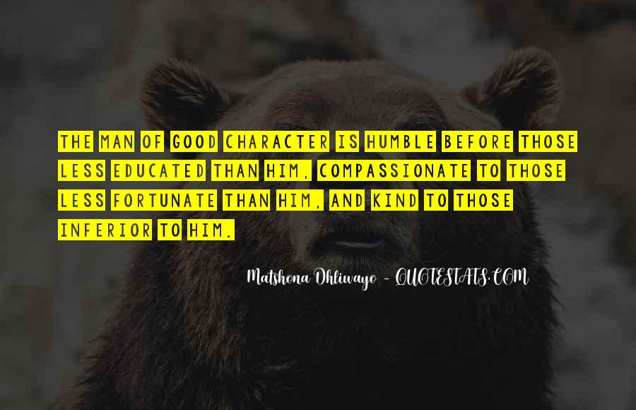 Quotes About Good Character #217111