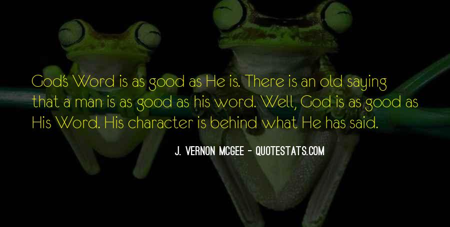 Quotes About Good Character #37659