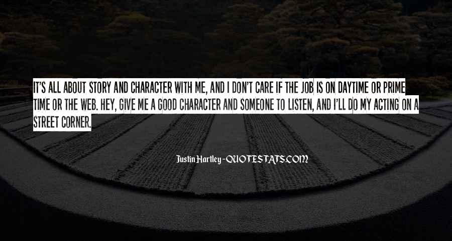 Quotes About Good Character #46900