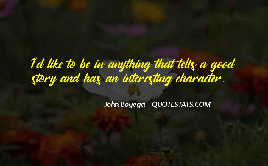 Quotes About Good Character #46993