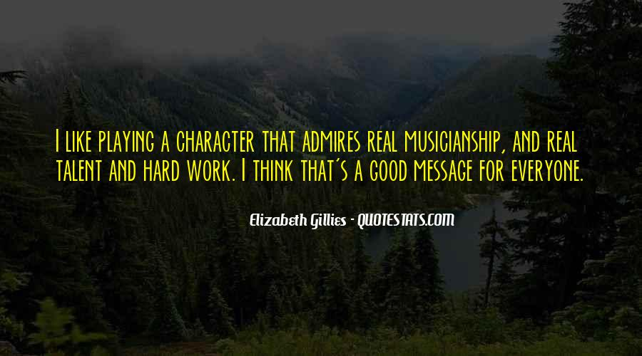 Quotes About Good Character #55305