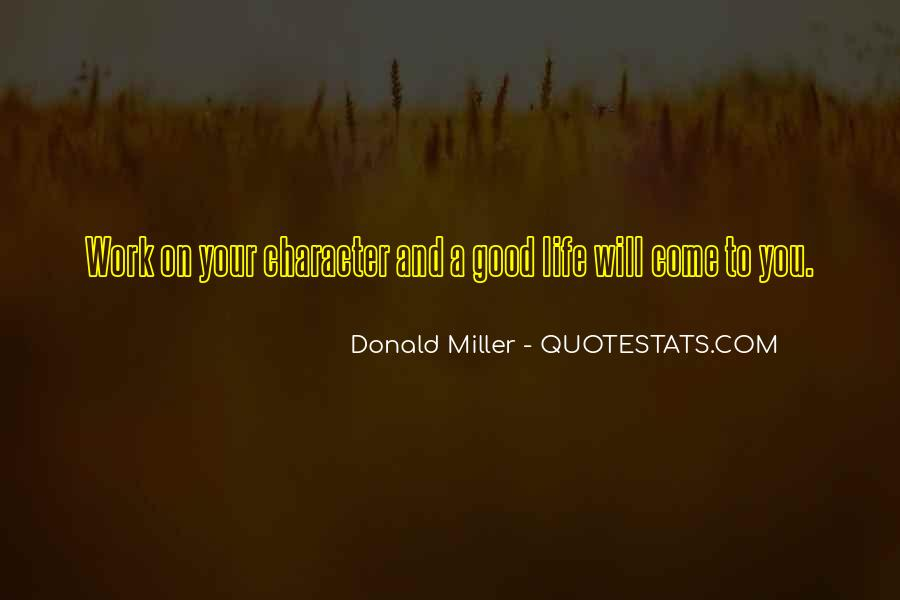 Quotes About Good Character #64259
