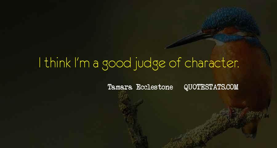 Quotes About Good Character #64387
