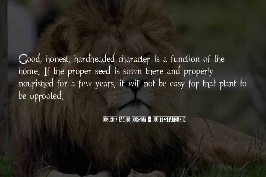 Quotes About Good Character #70854
