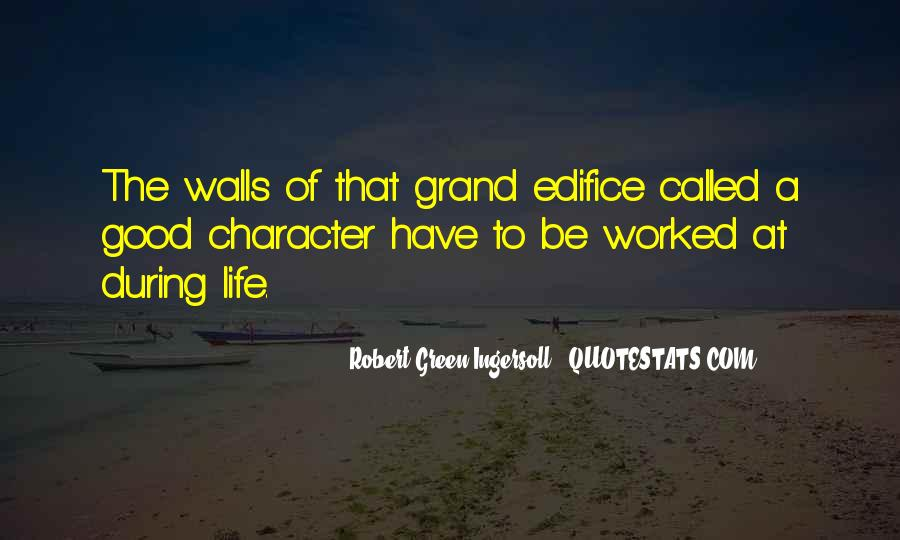 Quotes About Good Character #93441