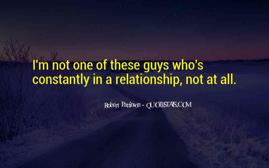 Quotes About Guys In A Relationship #419122