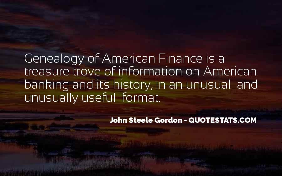 Quotes About Banking And Finance #1692358