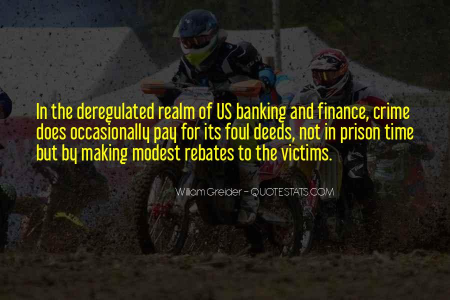 Quotes About Banking And Finance #1776965