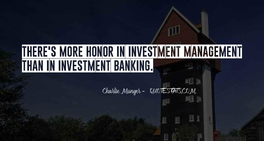 Quotes About Banking And Finance #21842
